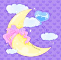 Dreamy Moon by MissJediflip