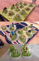 Marzipan Frogs by Emfen