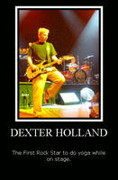 Dexter Holland Does Yoga by reamithey