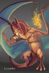 Charizard by Leundra