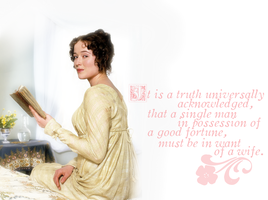 Truth universally acknowledged by olde-fashioned