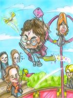 Harry Potter Caricature by teague