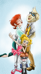 Dexter Lab  Family Pic by TheCrownTrickster