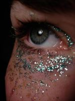 Green Glitter II by music-lover-stock