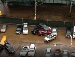 Part Of My Parking Lot (Sandy Aftermath) by Rpshadow100
