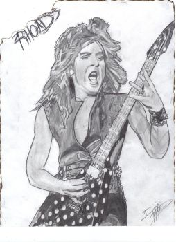 Randy Rhoads by Dominoes747