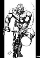 Marvel Heroes Thor by Fpeniche