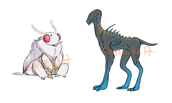 Creature adopts - CLOSED by Katicin