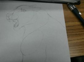 :WIP:And This Is How My Drawings Start by Elliotious