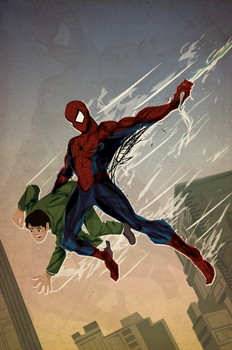 Spiderman Origin by ChasingArtwork