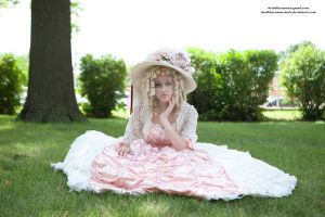 Victorian Dress 092 by deathbycanon-stock
