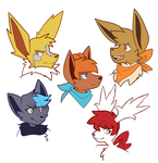 more old ocs by foxsnacks