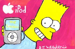 Bart iPod by DJgames