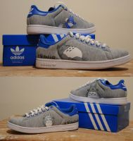 Totoro Shoes by TheProductionist