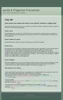 FAQ 81 traducido - spanish by rydi1689