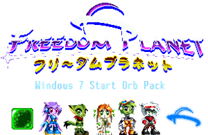 Freedom Planet Start Buttons/Orbs Pack by ItalianGamer97