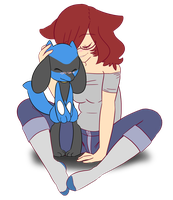 Riolu Love by katestrife