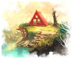 Cabin in the wood by windboi