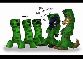 Creepers For One Day... Maybe by PolisBil