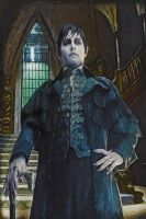 Johnny Depp as Barnabas Collins in Dark Shadows 1 by notjustone