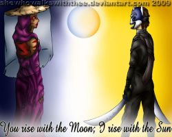 The Sun and the Moon2 by SheWhoWalksWithThee