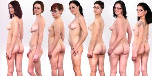 Femmes a lunette by Arts-Muse