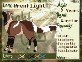 Wrenflight Reference Sheet by Prickly-Padawan