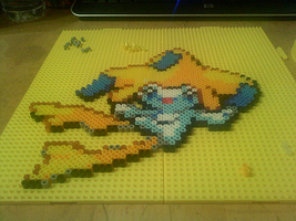 Jirachi Beadsprite by dylrocks95