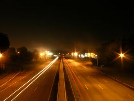 Rt 23 South -wayne- 12:30 am by OrganicGolem-Stock