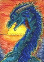 25. ACEO - Furia by Tir-Goldeness