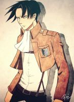 Levi Heichou by Raynated