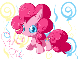 Chibi Pinkie Pie by Chaomaster1