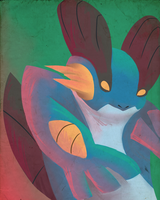 Swampert for the application by cartoonboyplz
