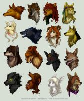 Avatar Commission Batch 9 by Kiriska