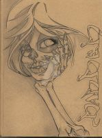 SKETCH BOOK COVER by DEMONGRAFIX666