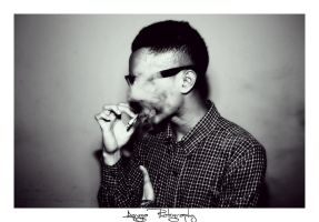 Smoker Face by LomoPeople