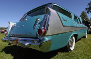 Blue Plymouth wagon by finhead4ever