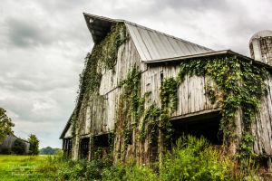 Barn HDR (Exterior) by SparkVillage