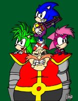 We're the Sonic Underground by SlySonic