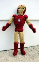 Iron Man by leftandrightdolls