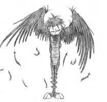 fallen angel Johnny by hibbary
