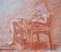 figure drawing from life by bunnyluvable