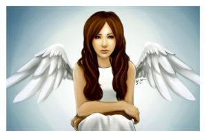 Angel of Mine by jtgraffix