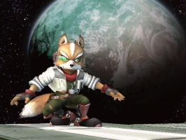 Fox McCloud by WinterIceFox
