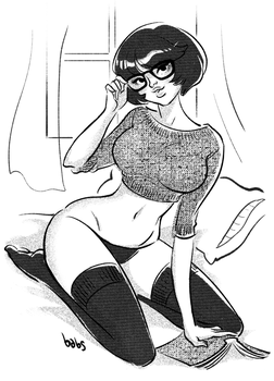 Velma by babsdraws