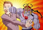 Ryan Seacrest vs Mumm-Ra by GabeLamberty