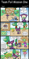 Foil Mission 2 Page 1 by OrcaCookie