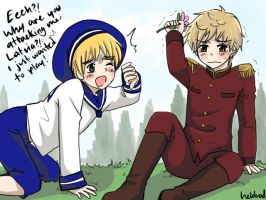 Sealand and Latvia x3 by Heldrad