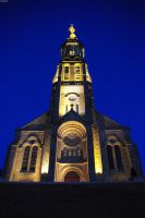 Church in Vendee by Parinferal