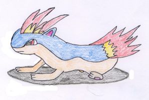 Quilava by Fuzzbyroo